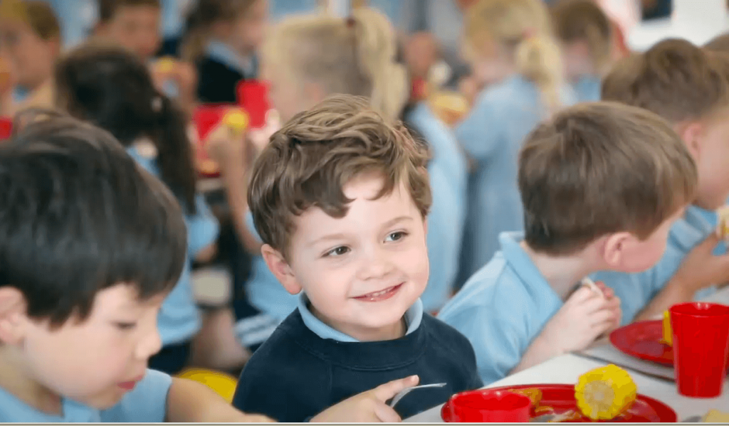 Primary school lunchtime